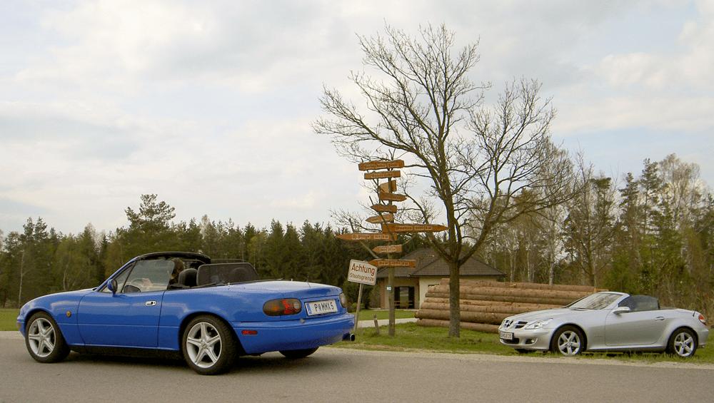 Fotostopp am nördlichsten Punkt Österreichs